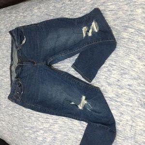 Old Navy Rockstar Mid- Rise Skinny Jeans